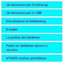 Databasing e CRM